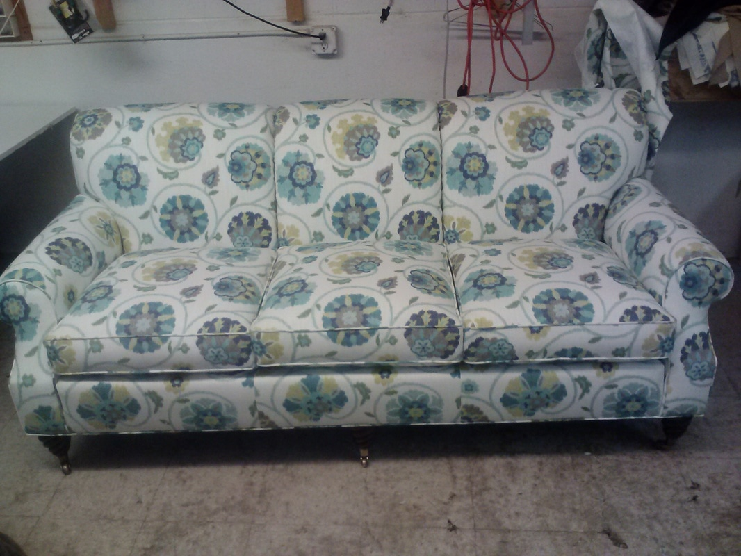 anne couch upholstery we bellevue queen happy wa reupholstered for client sofa part a victorian finished repair reupholstery after